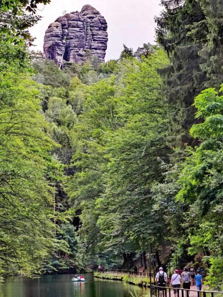 Amselsee Sächsische Schweiz - idyllisch oder?