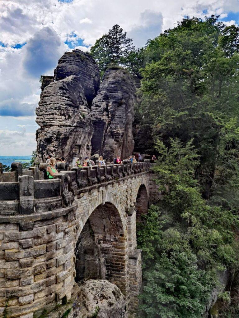 Die beliebte Basteibrücke Wanderung ist etwas Besonderes