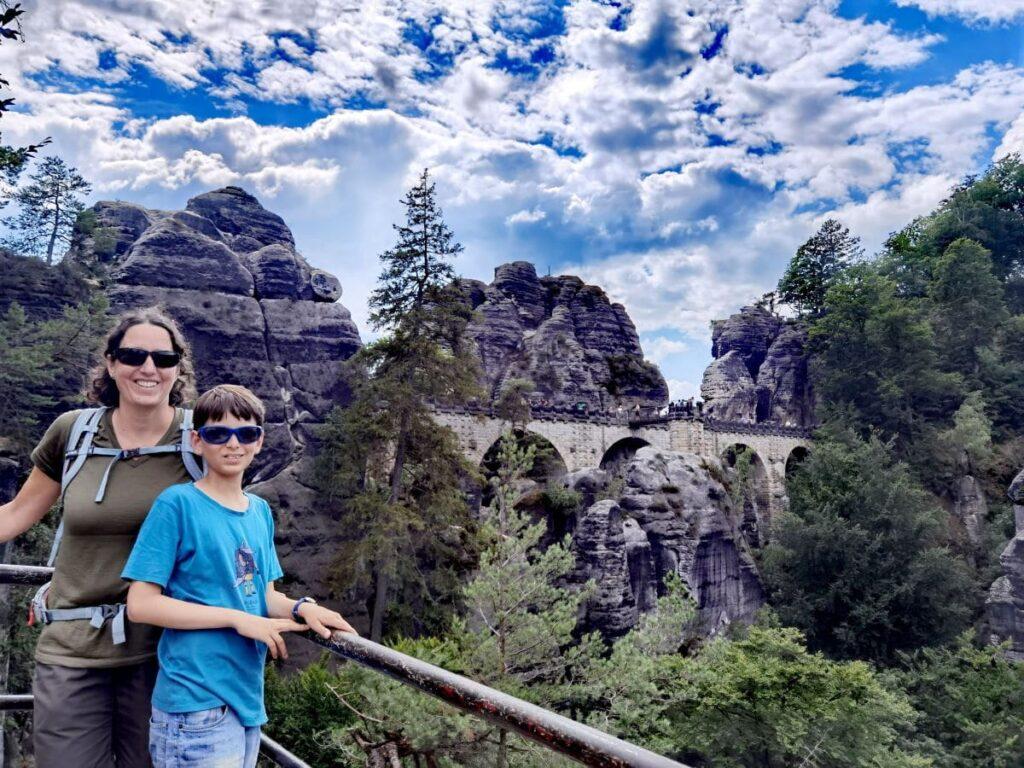 Bastei wandern mit Kindern - schön und kurzweilig als Ausflug in die Natur